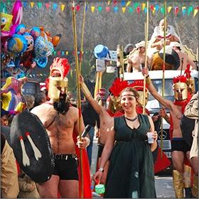 Карнавалът на остров Тасос